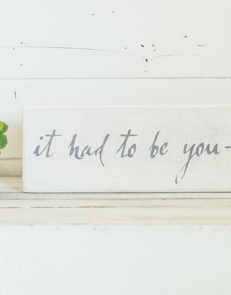 Small Case Board- It Had to be You