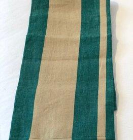 Waikiki Tea-Towel Green Stripe