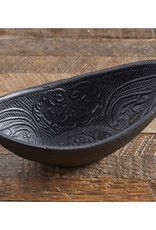 Oval Cast Iron Bowl