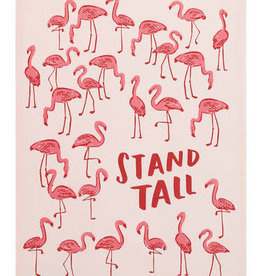 Flamingo Stand Tall Towel