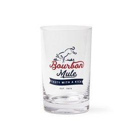 Bourbon Mule Glass