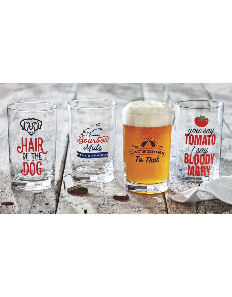 Hair of the Dog Cocktail Glass