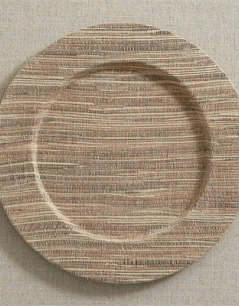 Natural Hyacinth Charger Plate