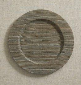 Hyacinth Charger - Slate