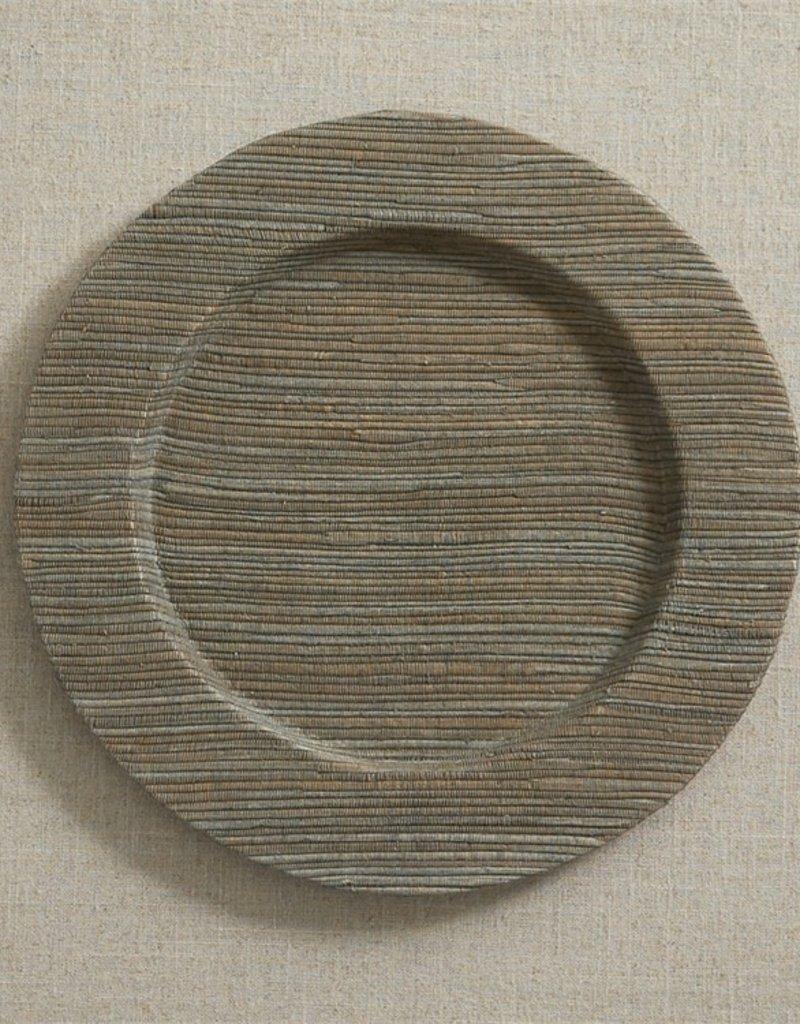 Slate Gray Hyacinth Charger Plate