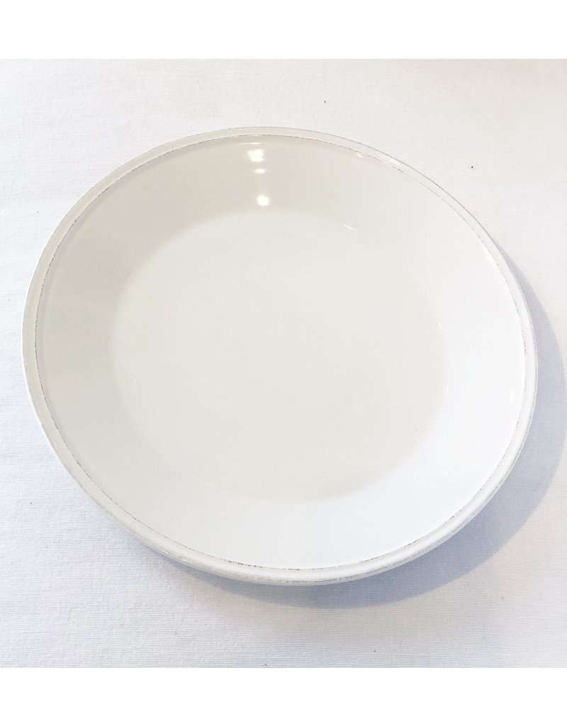 White Provisions Charger Plate