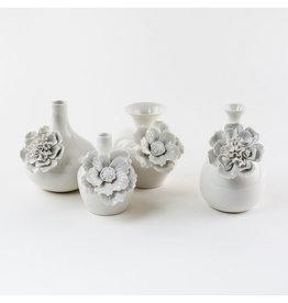 Large White Flower Vase