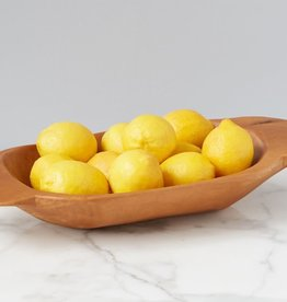 Natural Wood Dough Bowl - Small