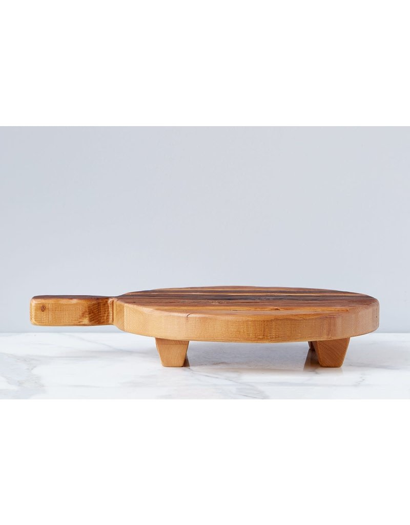 Classic Round Footed Serving Board