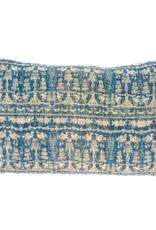 Blue Celeste Printed Throw Pillow