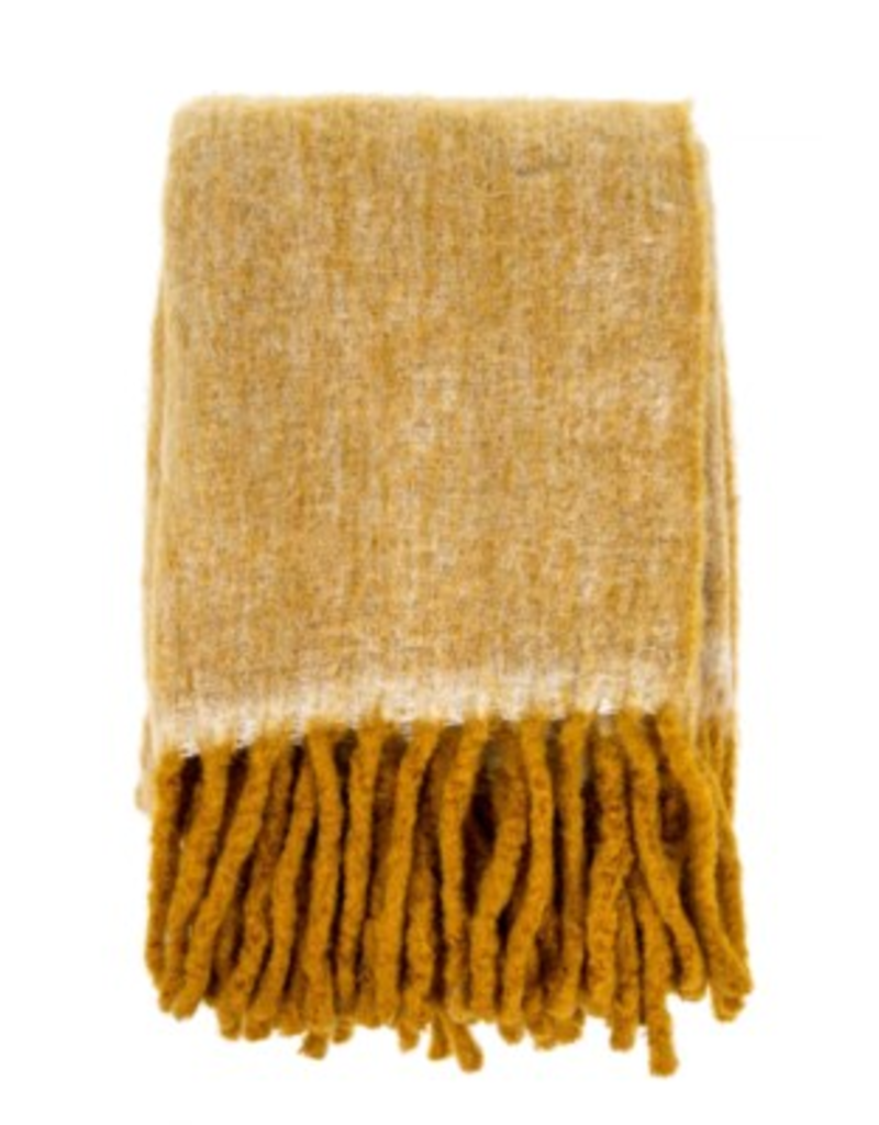 Amber Fireside Cosy Decorative Throw