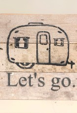 Let's go Camping Word Board