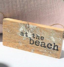 At the Beach Door Hang