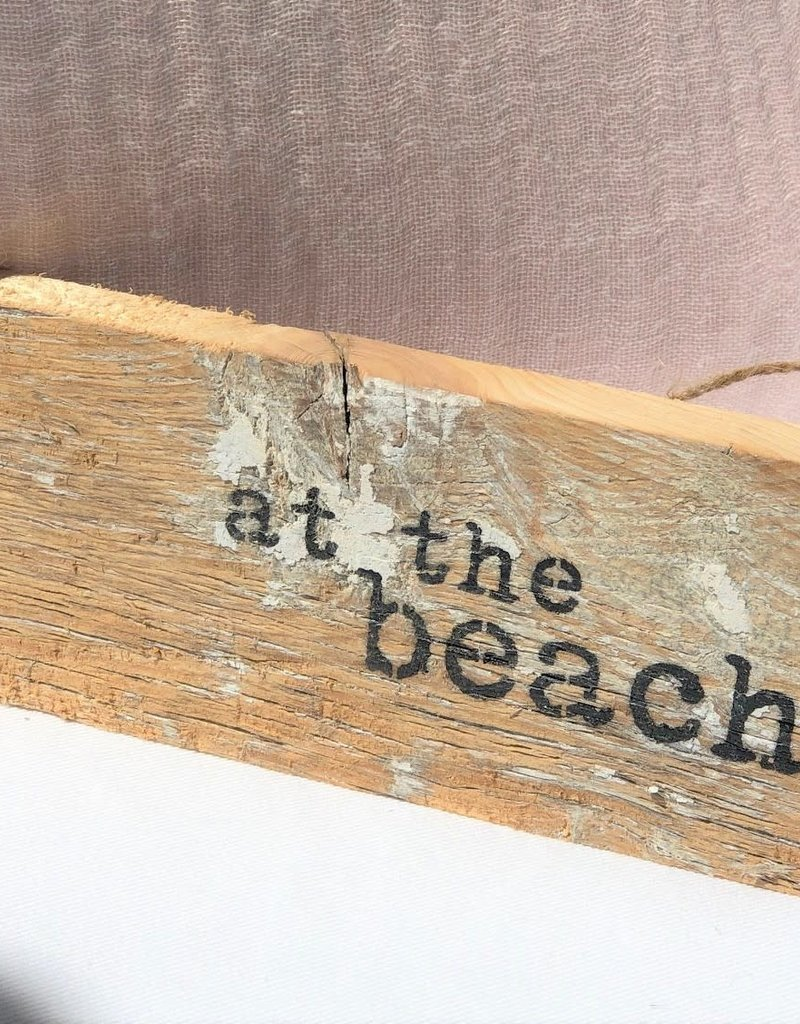 At the Beach Reclaimed Door Hang