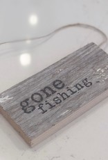 Gone Fishing Reclaimed Door Hang