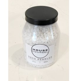 White Decor Pebbles