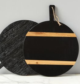 Black Round Mod Charcuterie Board - Medium