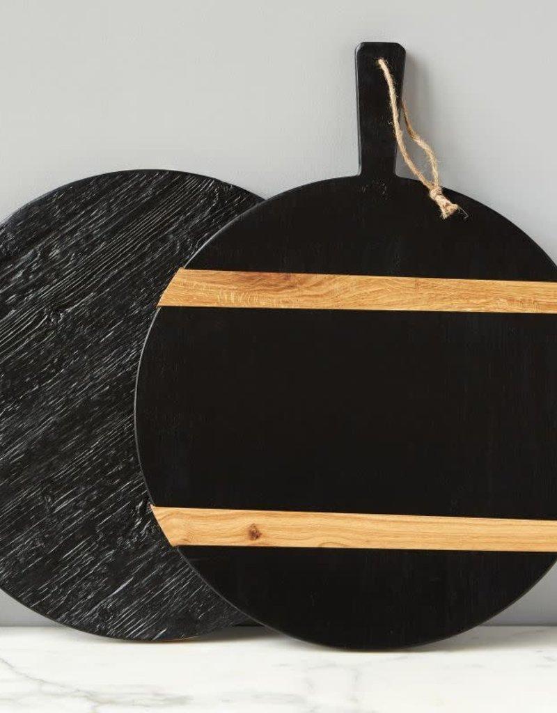 Medium Black Round Mod Charcuterie Board
