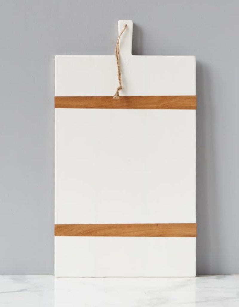 Large White Rectangle Mod Charcuterie Board