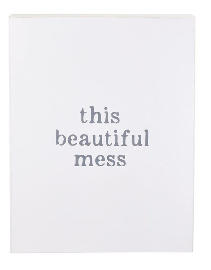 Large Word Board -This Beautiful Mess