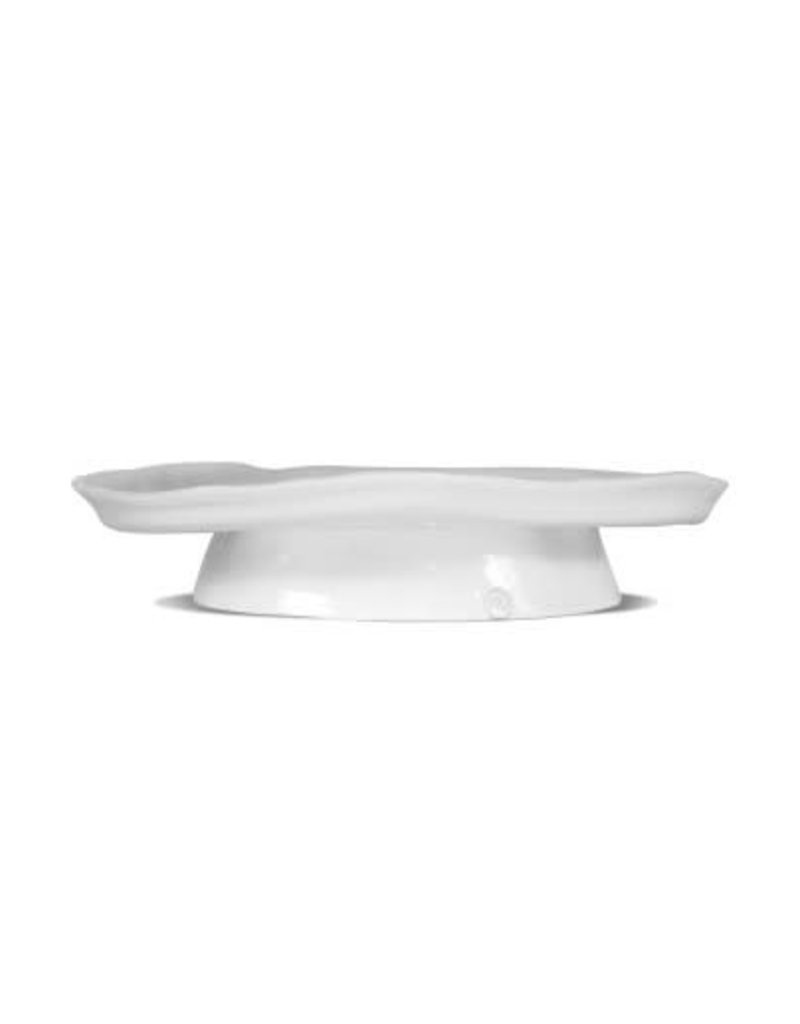 Large White Ceramic Cake Stand 929