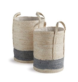 Natural Lined Round Baskets-Starting at $71.00