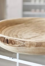 Natural Woodlands Large Decor Bowl