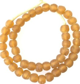 Ghana Light Topaz African Beads
