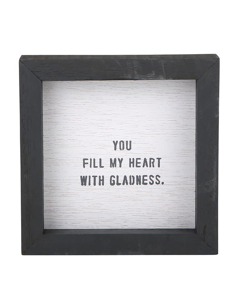You Fill My Heart with Gladness Word Board