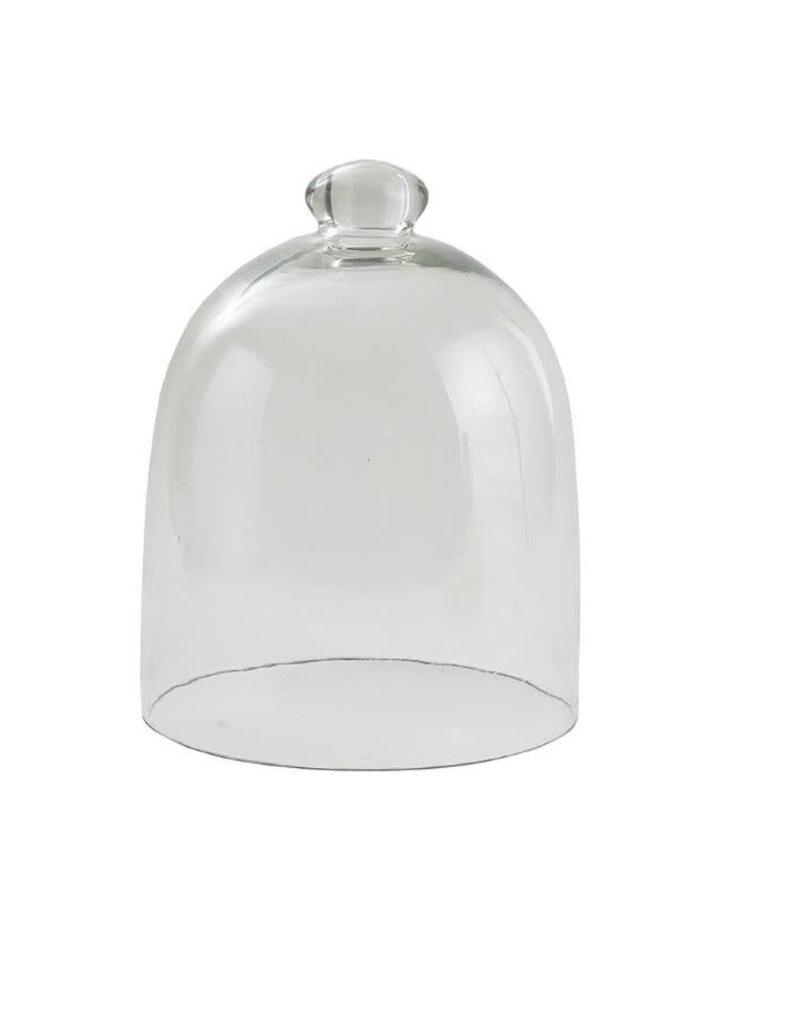 Medium Clear Glass Cloche