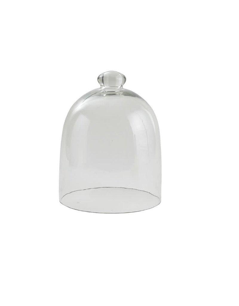 Medium Clear Glass Cloche