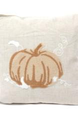 Grand Pumpkin Harvest Pillow- Natural