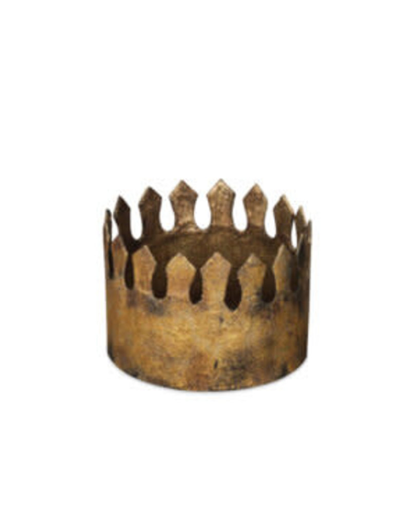 "3 "" Gold King's Crown"