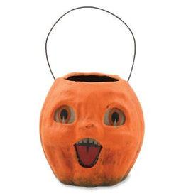 Pumpkin Bucket - Vintage Inspired