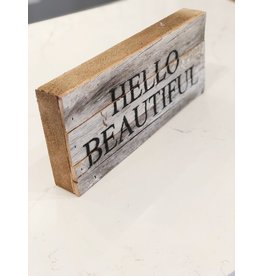Hello Beautiful Word Board