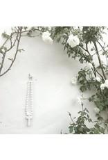Mini Love Beads with Reclaimed White Cross
