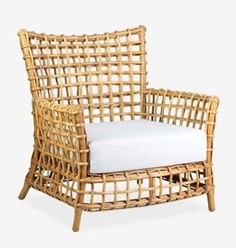 Lily Rattan  Arm Chair - Natural
