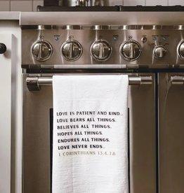 Simple Blessings Tea Towel - Love