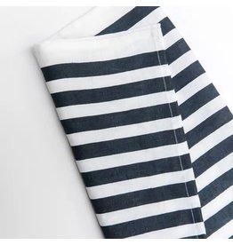 Blue Stripe Navy Tea Towel-Med