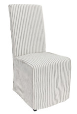White Allie Upholstered Dining Chair