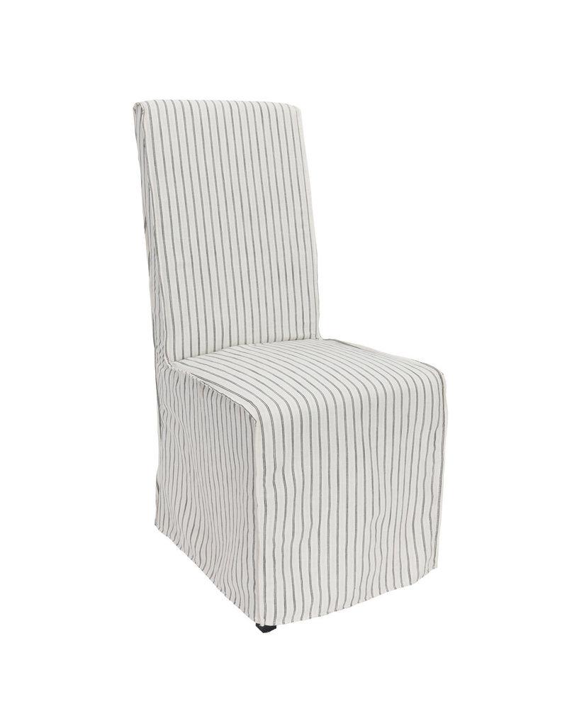 White Allie Upholstered Dining Chair