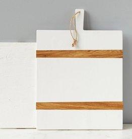 White Rectangle Charcuterie Board-Medium