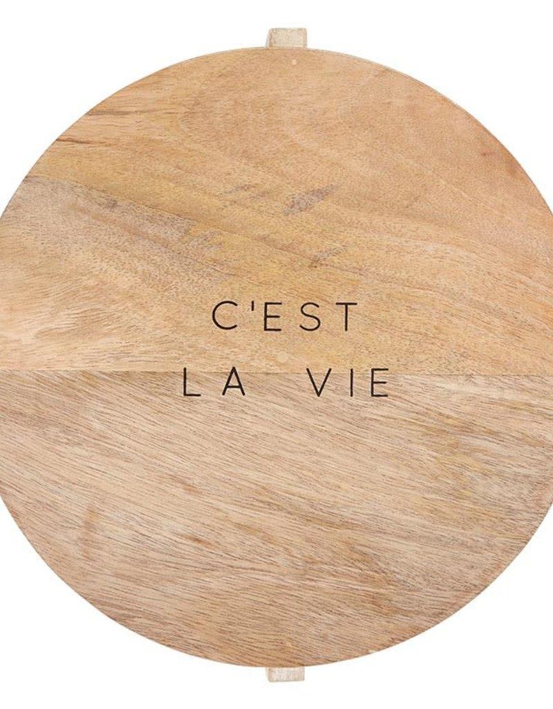 White Wash C'EST LA VIE Cheese Board