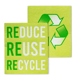 Reduce Reuse Recycle Dishcloths