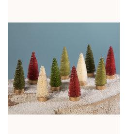 Mini Bottle Brush Tree Set