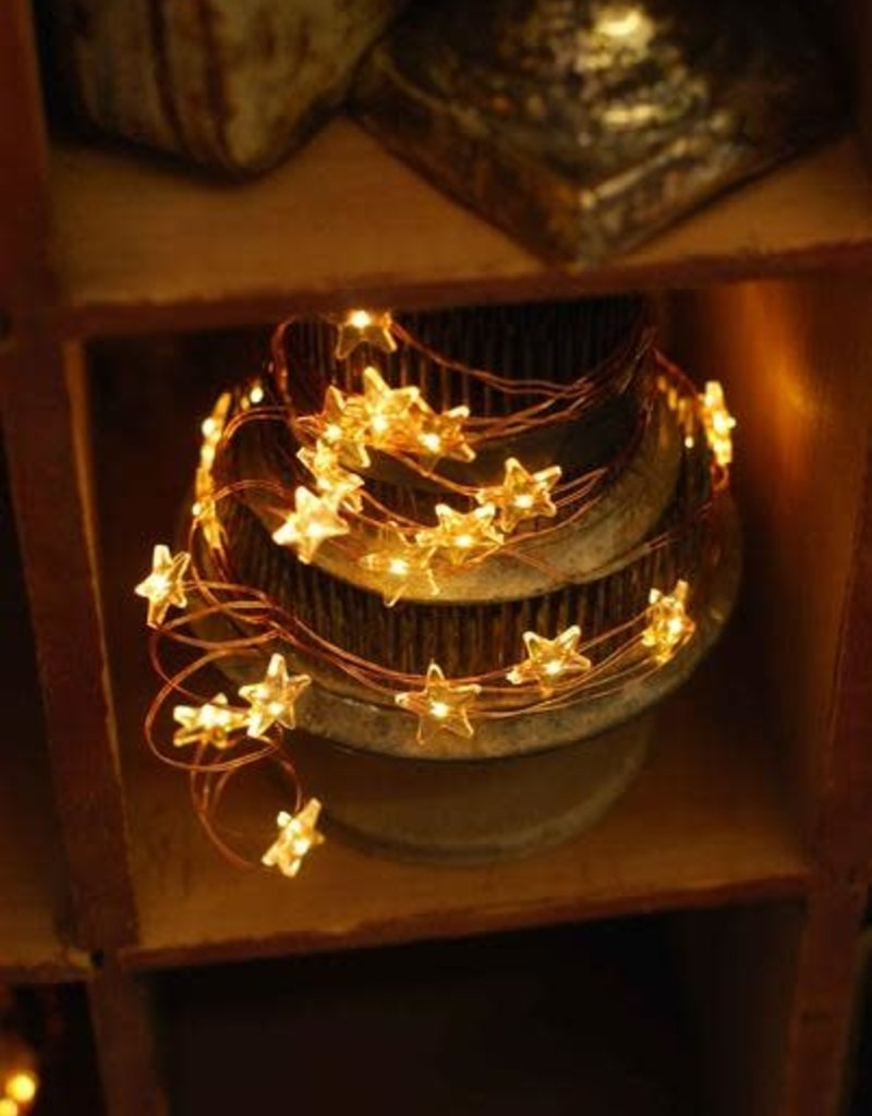 Whimsy Wire Star Lights