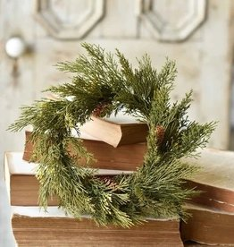 Alpine Cedar Holiday Candle Ring