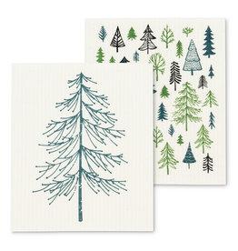 Christmas Trees Dishcloths