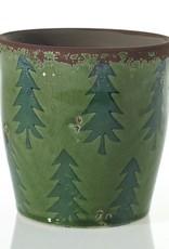 Meri Meri Green Christmas Pot