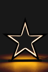 Small Star LED Decor Lamp- 10""